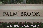 sign for Palm Brook of Walnut Creek