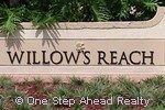 sign for Willows Reach of Walnut Creek