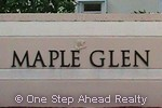 sign for Maple Glen of Walnut Creek