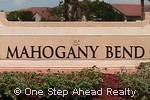 sign for Mahogany Bend of Walnut Creek